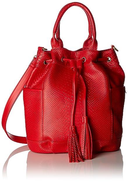 87b85cb42a Lola Ramona Honey, Women's Satchel, Red, 15x30x28 cm (B x H T ...