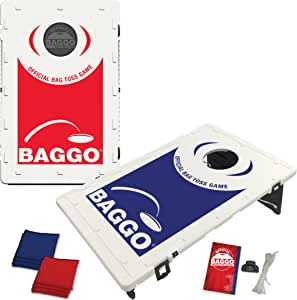 Family Backyard Baggo Bean Bag Toss Cornhole Game