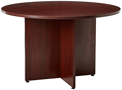 HON BL Series Conference Table, Round, X Base, 48u0026quot; Diameter,