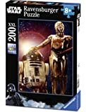 Ravensburger Italy 12723 8 - Puzzle Star Wars, 200 Pezzi