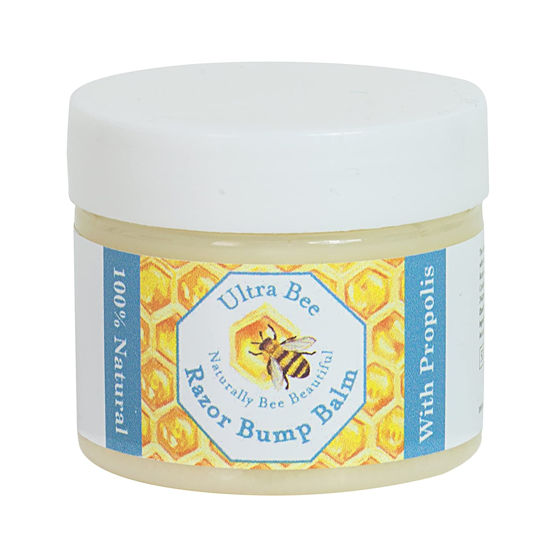 Natural Aftershave Razor Bump Balm with Tea Tree 50ml Ultra Bee Health Ltd