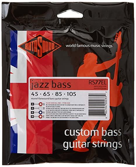monel flatwound bass strings review