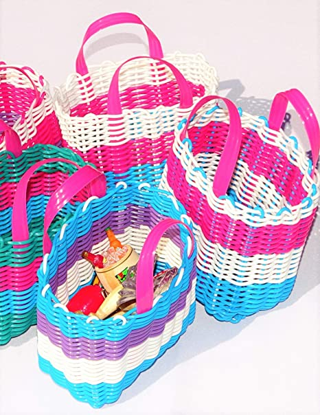 Amazon.com: Mexican Candy Bags for Fiestas, Set of 4 Mini ...