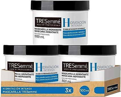 Tresemmé - Tresemme Masc Hidratación Intensa 500 ml - [Pack de 3 ...