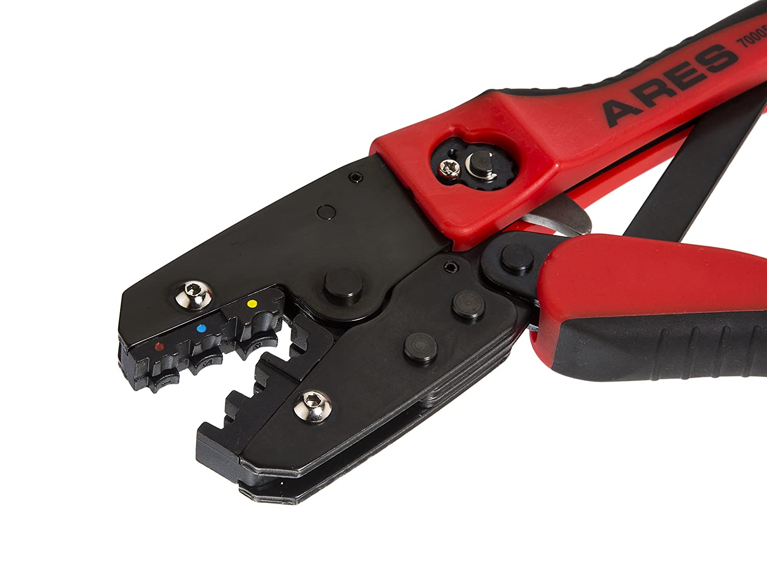 ARES 70005 | Professional Ratcheting Wire Terminal Crimper Tool ...
