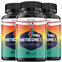 (3 Pack) Pro Meticore X Supplement Pills Advanced Reviews Metabolism Manticore Prime Extra Strength Medicore Pills - 180 Capsules