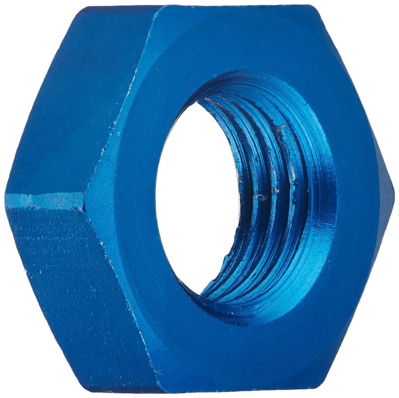 Aeroquip FCM3556 Blue Anodized Aluminum -3AN Bulkhead Nut - Pack of 2