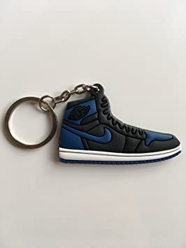 SneakerKeychainsNY Jordan Retro 1 OG Royal - Llavero con ...