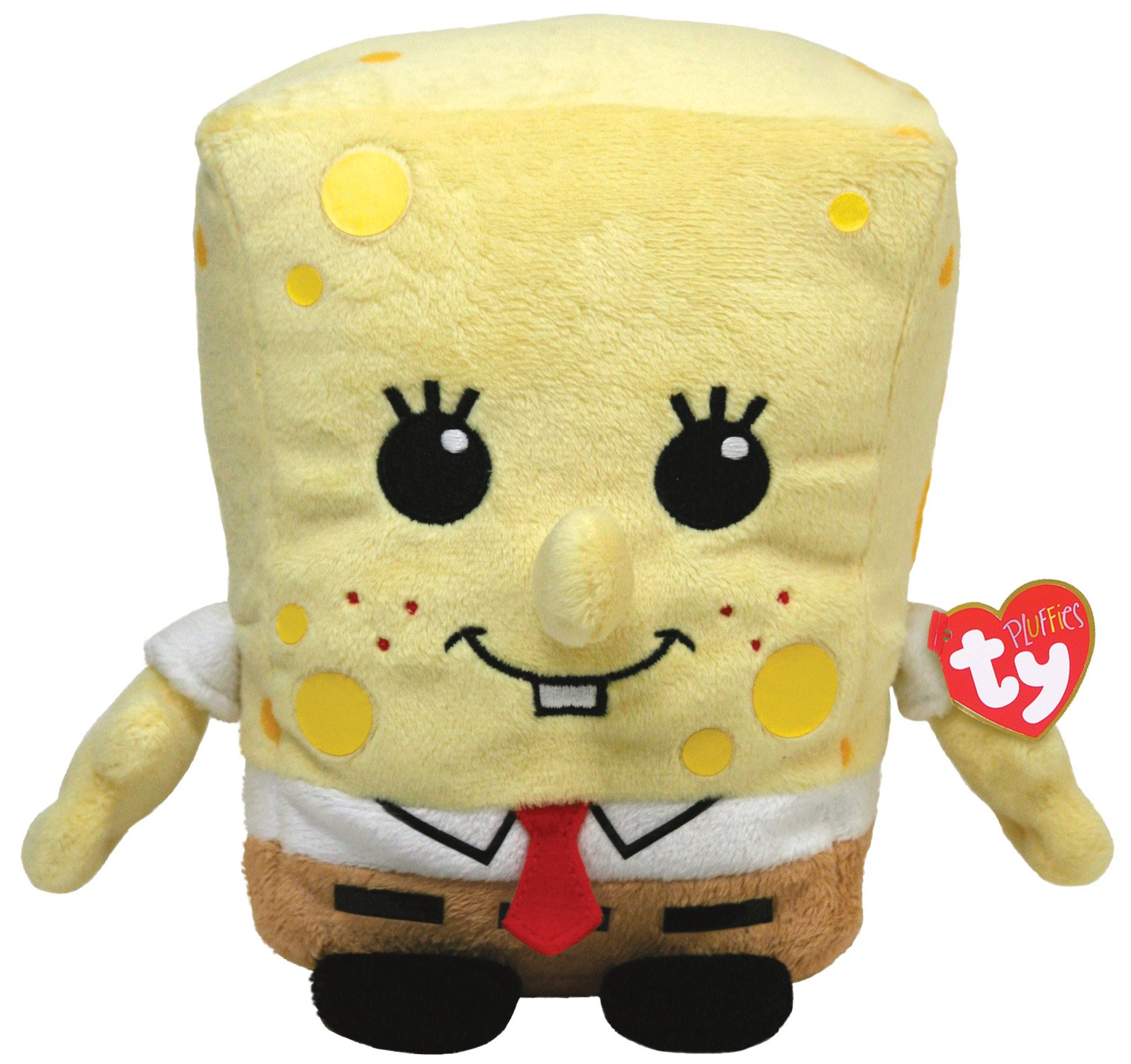 Ty Pluffies Spongebob by Nickelodeon