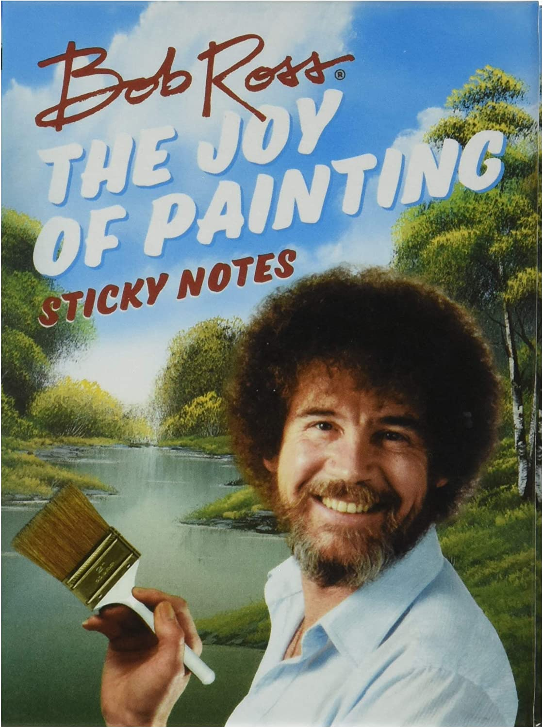Bob Ross The Joy of Painting Sticky Notes Booklet