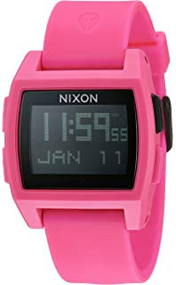 Nixon Base Tide Mens Surf Watch with Silicone Band (38mm. Silicone Band)