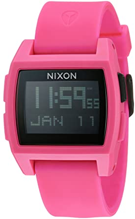 Nixon Base Tide Men s Surf Watch with Silicone Band (38mm. Silicone Band) ec29b379721b