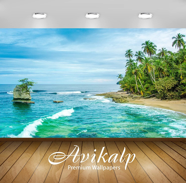 Avikalp Exclusive Awi2526 Costa Rica Wild Caribbean Beach In