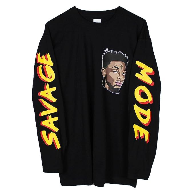 Printed Tee 21 Savage Long Sleeve T-Shirt