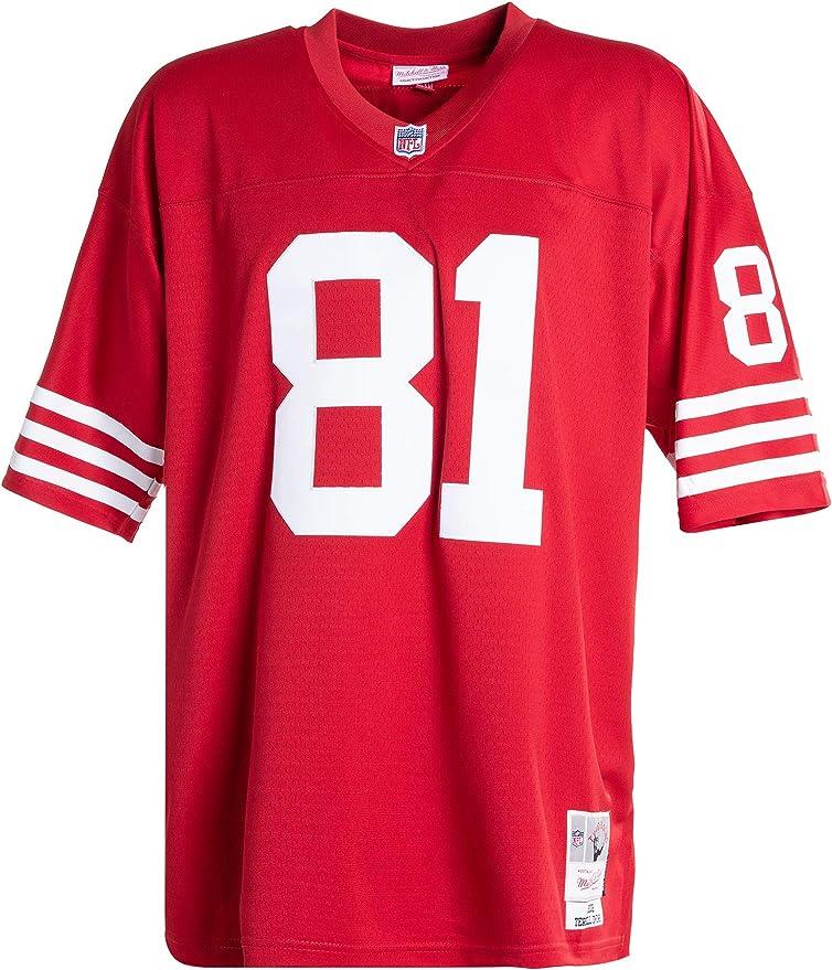 Mitchell & Ness San Francisco 49ers Terrell Owens Legacy - Réplica de la NFL 2002, Hombre, rojo, large: Amazon.es: Ropa y accesorios