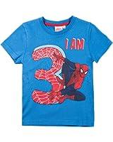 Spiderman Jungen T-Shirt - blau
