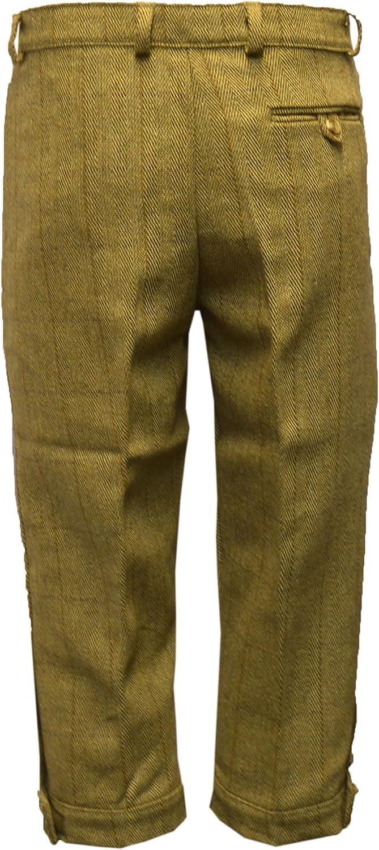 pantaloni alla zuava in tweed Walker and Hawkes colore: salvia scuro taglie: da 36 a 52 adatti per la caccia