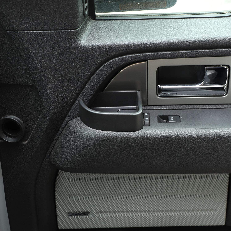 Voodonala for 2009-2014 Ford F150 Door Storage Tray Organizer Box 2pcs