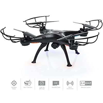 Best Choice Products Beginners 6-Axis FPV RC Drone HD Camera w/ Live Video and Altitude Hold: Toys & Games