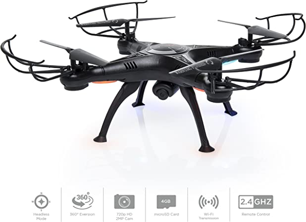 Best Choice Products 6 Axis Headless RC Quadc