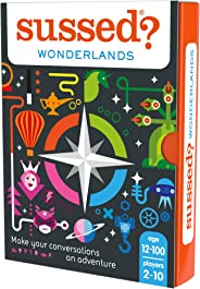 SUSSED Wonderlands - The Hilarious Who Knows Who Best Card Game - Explore who You are
