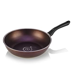 "TeChef - Art Pan 12"" Wok/Stir-Fry Pan, Coated 5 times with Teflon Select Non-Stick Coating (PFOA Free) - 12 IN (30cm)"