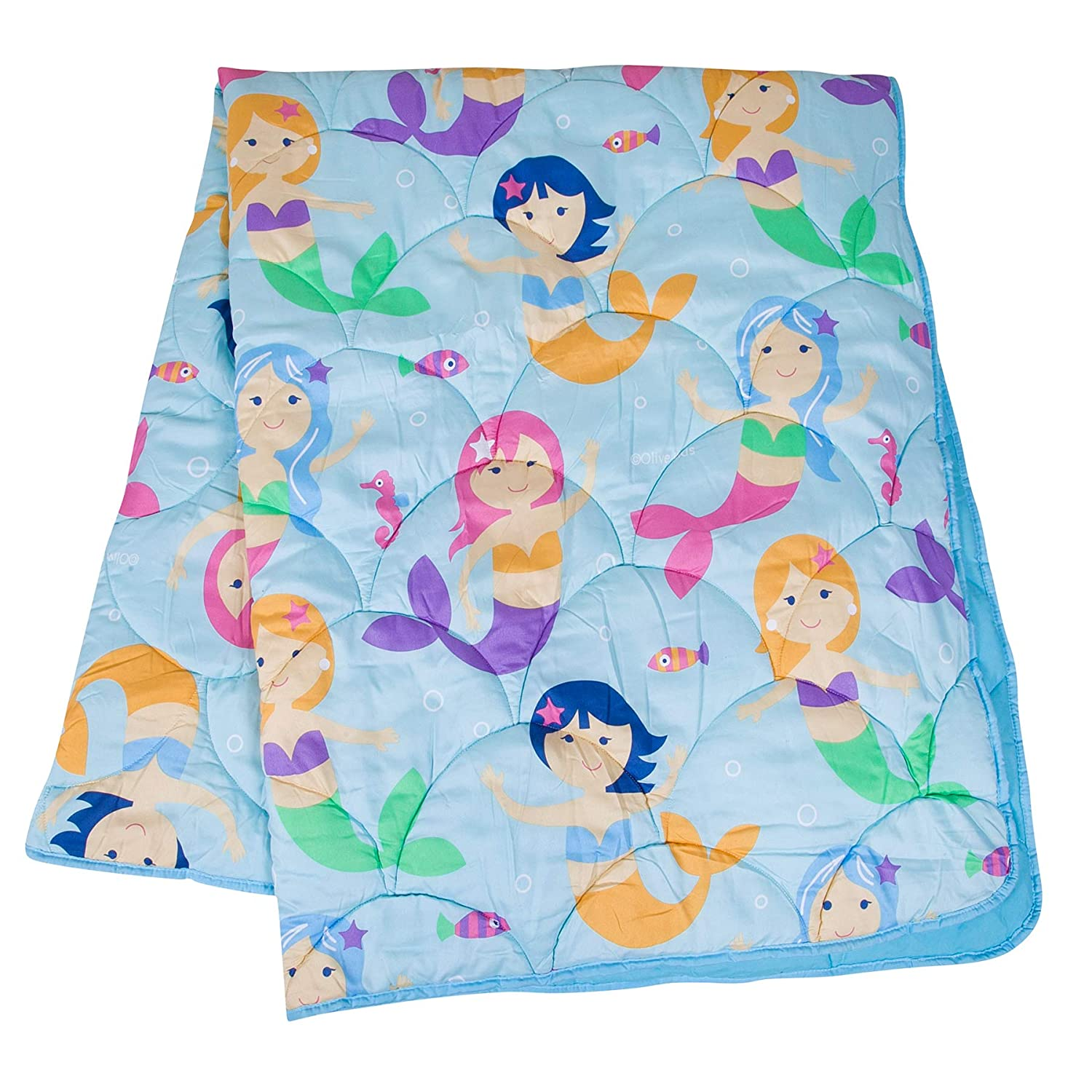 Olive Kids Mermaids 7 pc Bed in a Bag Full