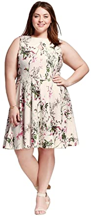 2a9a0cd8892 Melonie T Women s Plus Size Sleeveless Printed Dress (16W