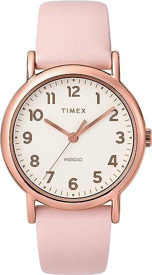 Timex Unisex Weekender 38mm Travel Bracelet Watch for Women