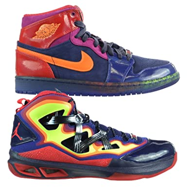 hot sale online f7729 b7e14 Jordan YOTS Pack Year of the Snake Air 1 Retro Melo M9 Multi Color (