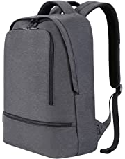 REYLEO Laptop Backpack for Men Women Fits 15.6 Inch Laptop, Water Resistant Casual Daypack for Work Travel School College Business Trip Commute