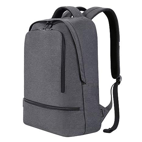 REYLEO Zaino Per PC E Laptop Portatile Backpack Casual Impermeabile Unisex Per  La Scuola e Il