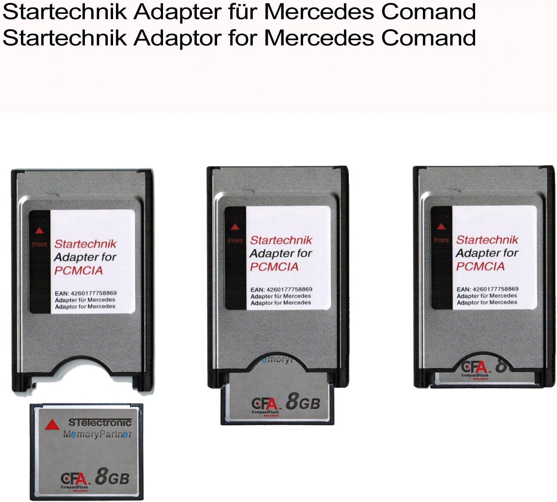 MERCEDES MB Comand compactflach CF pcmcia Adaptateur lecteur de carte pour w221 s Classe