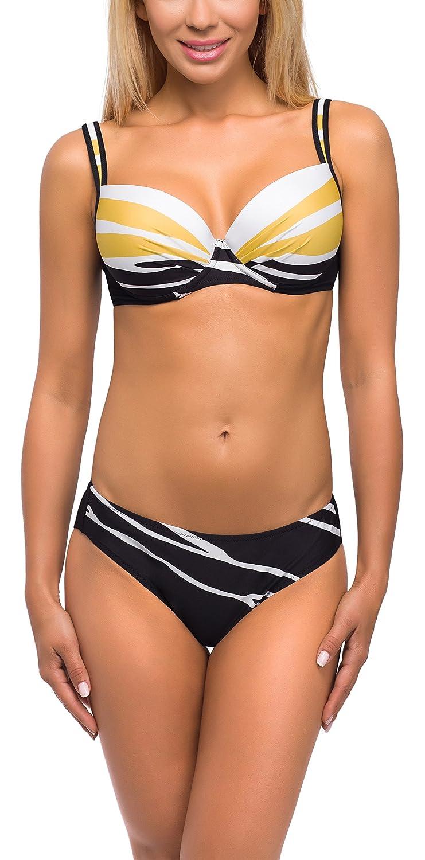 Feba Figurformender Damen Push Up Bikini D1N32L1V2RS4
