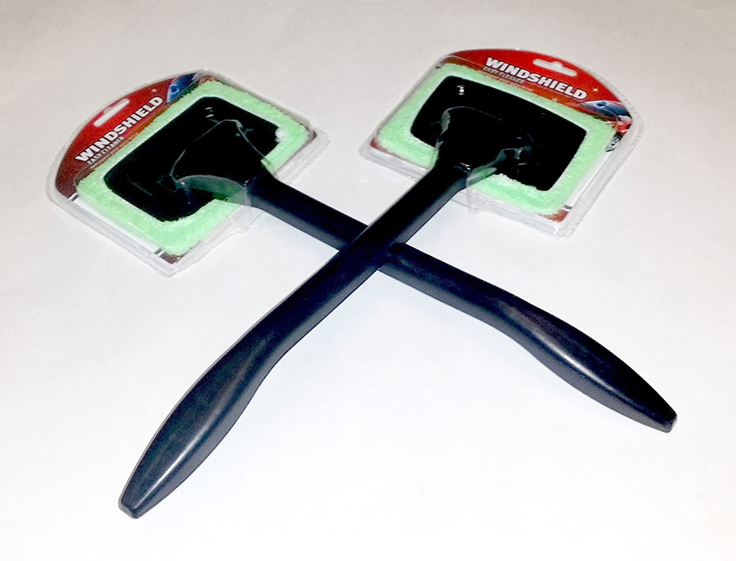 2 Microfiber Easy Windshield Cleaner Wands for your cars' windshields Kole Imports GM281