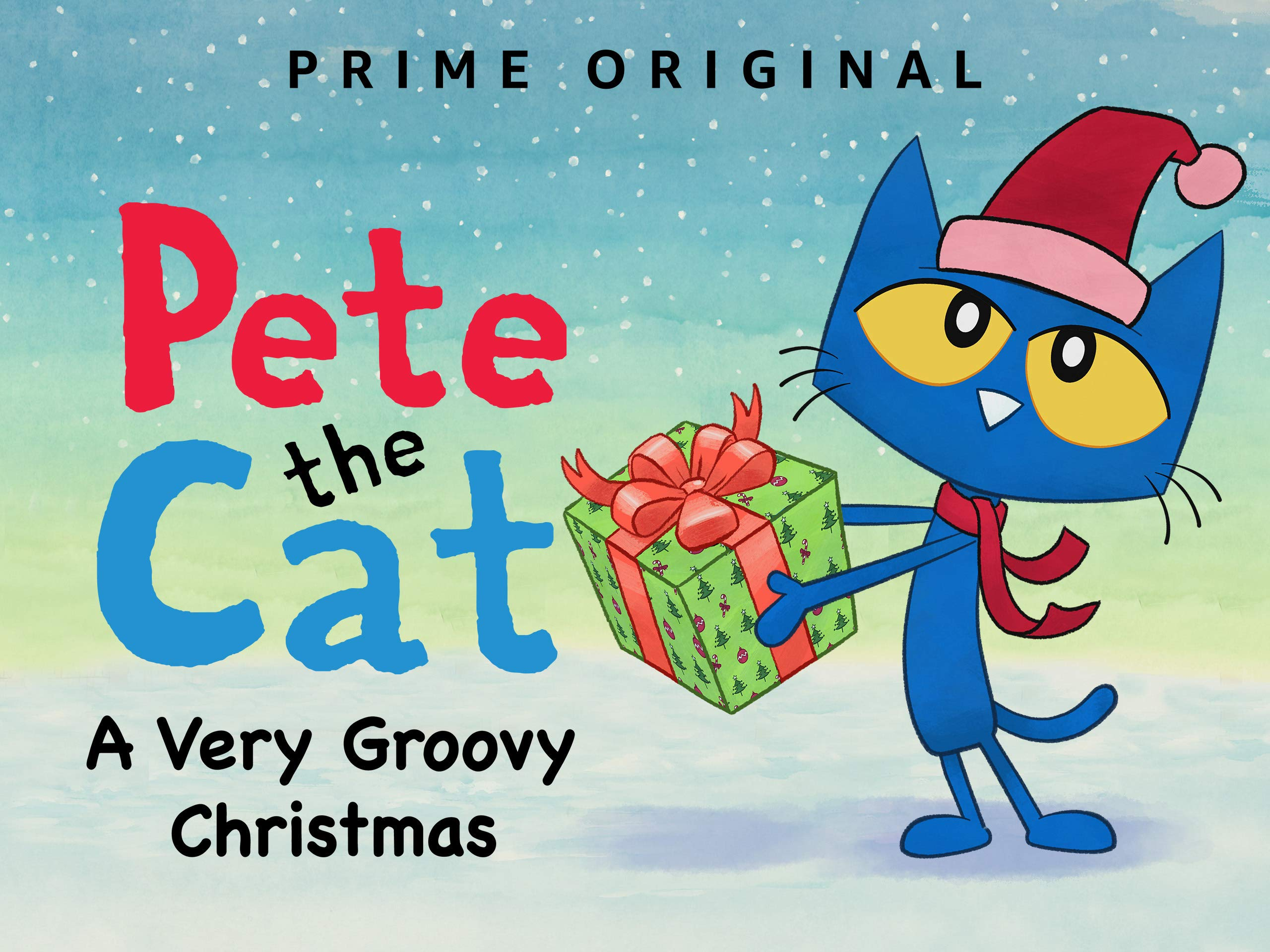 Pete The Cat Christmas.Amazon Co Uk Watch Pete The Cat A Very Groovy Christmas