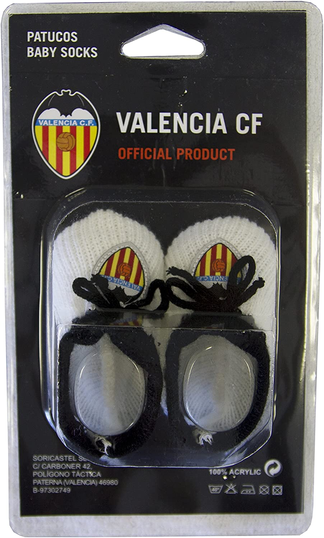 Naranja//Blanco Talla /Única Valencia CF Patvcf Patucos
