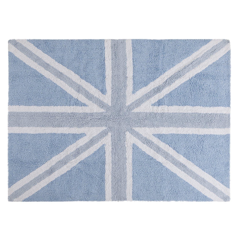PROMOTION Tapis de sol enfant 120x160 cm Drapeau anglais bleu