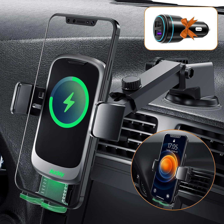 Auckly 15w Fast Qi Wireless Charger Auto Auto Elektronik