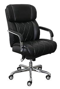 LaZBoy CHR10048A Sutherland Manager Chair, Black