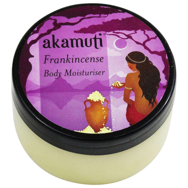 Akamuti - Crema Corpo Idratante Biologica all'Incenso per Pelli Spente Secche Mature 100 ml Yumi Bio Shop