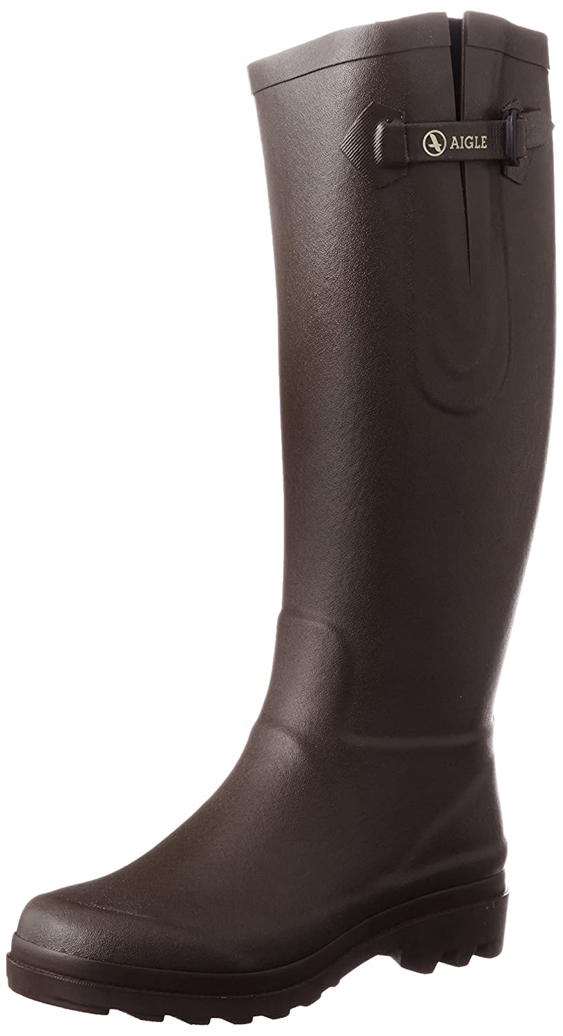 Aigle Womens Aiglentine Synthetic Boots B0050B2IPO 38 EU (6.5 B(M) US )|Brown
