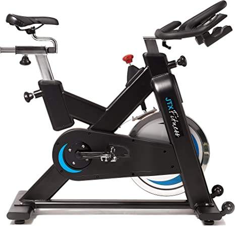Bicicleta estática JTX Cyclo Studiocon sistema de doble pedal, cumple con todas las especificaciones comerciales: Amazon.es: Deportes y aire libre