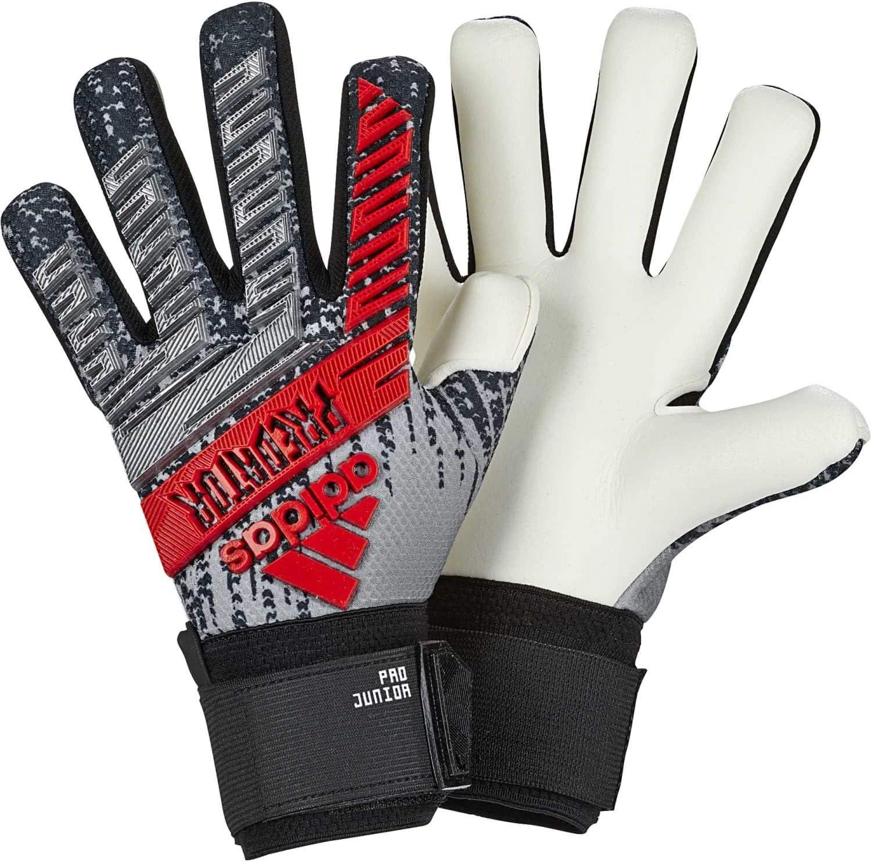 adidas Predator Pro Junior Goalkeeper Gloves 302 Re Direct Silver Metallic 811A2BdlhkaL