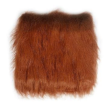 Melena peluca de pelo para mascotas perros traje de fiesta de Halloween dress up