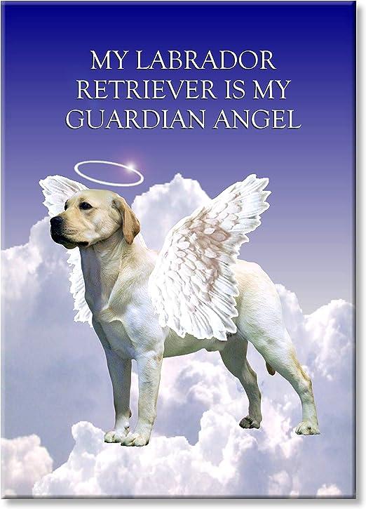 Mastiff Guardian Angel Fridge Magnet