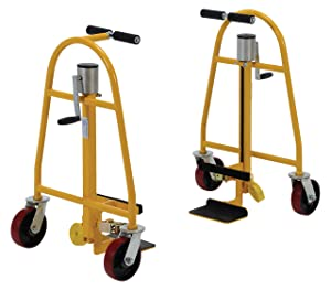 Vestil MFM-1300 Mechanical Furniture and Crate Mover, Steel, 1,300 lb. Capacity, 31-1/8