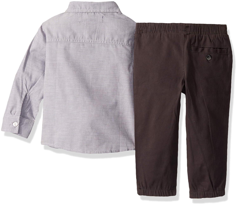 and Jogger Set Polo Assn U.S Color Block T-Shirt Boys Long Sleeve Woven