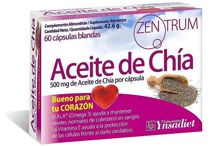 Zentrum Aceite de Chia - 60 Cápsulas