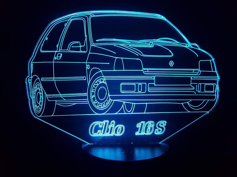 RENAULT CLIO 16S, lampe 3D à LED
